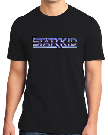 StarKid Chrome StarKid Logo Standard Black Stock Model Front 1 Thumb