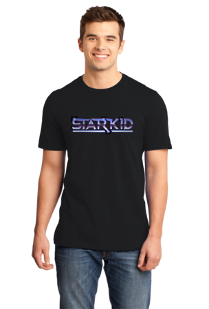 StarKid Chrome StarKid Logo Standard Black Stock Model Front 1
