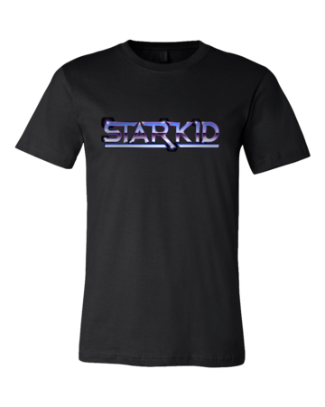 StarKid Chrome StarKid Logo Standard Black Blank with Depth