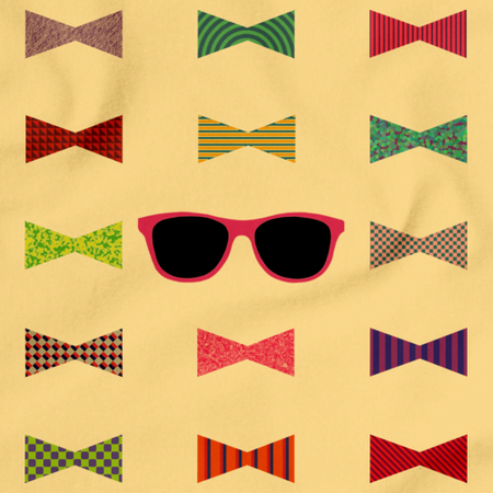Darren Criss Bowties Light yellow art preview