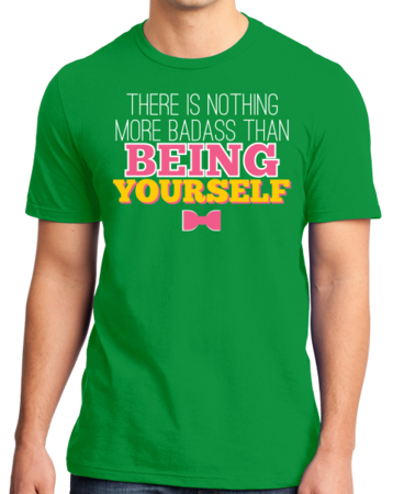 Darren Criss Being Yourself Standard Green Stock Model Front 1 Thumb Front