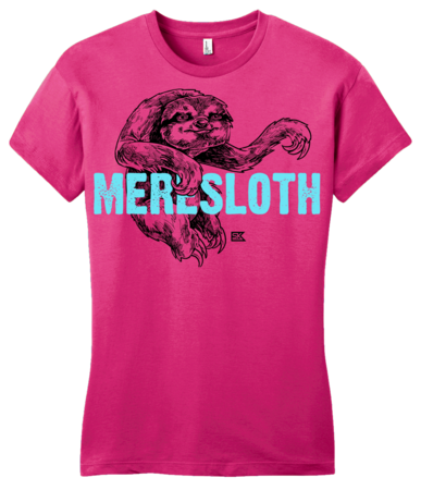 StarKid 1-2-3Ever Meresloth Girly Hot Pink Blank with Depth