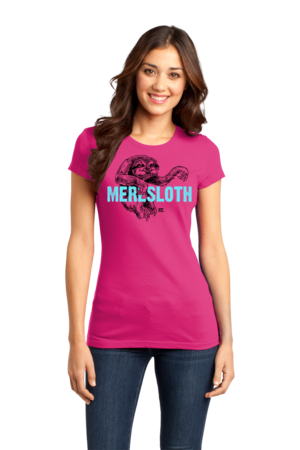 StarKid 1-2-3Ever Meresloth Girly Hot Pink Stock Model Front 1