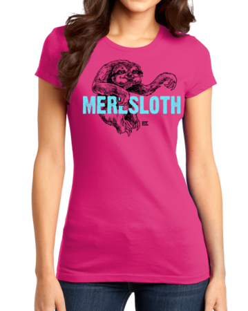StarKid 1-2-3Ever Meresloth Girly Hot Pink Stock Model Front 1 Thumb