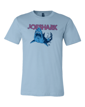 StarKid Joeshark Tee from 1-2-3-Ever Standard Light blue Blank with Depth