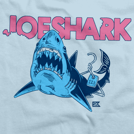 StarKid Joeshark Tee from 1-2-3-Ever Light blue art preview