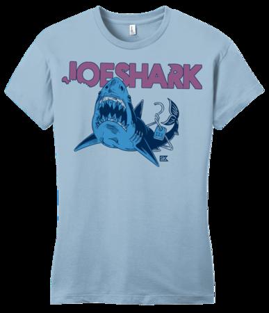 StarKid Joeshark Tee from 1-2-3-Ever Girly Light blue Blank with Depth