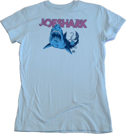 StarKid Joeshark Tee from 1-2-3-Ever Girly Light blue