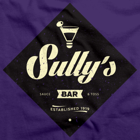 "StarKid Airport for Birds ""Sully's Bar"" Purple Art Preview"
