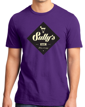 "StarKid Airport for Birds ""Sully's Bar"" Standard Purple Stock Model Front 1 Thumb"