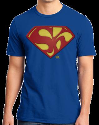 Starkid Holy Musical, B@man! Superman Logo T-shirt