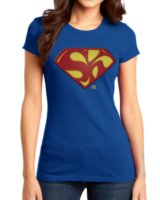 Starkid Holy Musical, B@man! Superman Logo T-shirt