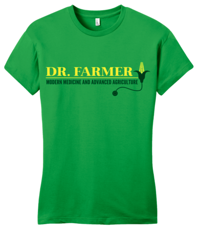 "StarKid Airport for Birds ""Dr Farmer"" Girly Green Blank with Depth"