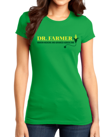 "StarKid Airport for Birds ""Dr Farmer"" Girly Green Stock Model Front 1 Thumb"