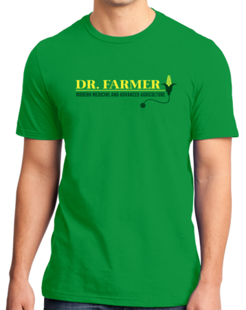"StarKid Airport for Birds ""Dr Farmer"" Standard Green Stock Model Front 1 Thumb"