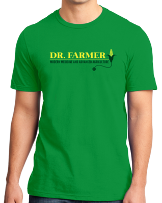 "StarKid Airport for Birds ""Dr Farmer"" T-shirt"