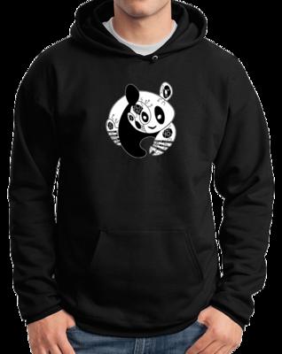 Joe Moses Panda Pullover Hoodie