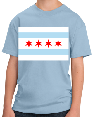 Chicago City Flag - Chicago Pride Second City Love Native T-shirt