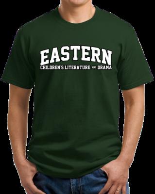 Eastern Children's Literature & Drama Arched, Black Outline Design T-shirt
