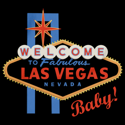 Welcome To Las Vegas, Baby! - Sin City Vegas Humor Gambling Baby T-shirt