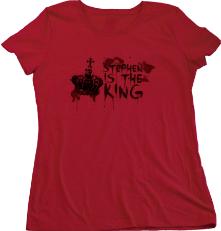 Stephen is the King Ladies Red