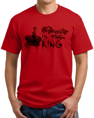 Stephen is the King T-shirt