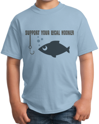 SUPPORT YOUR LOCAL HOOKERS T-shirt