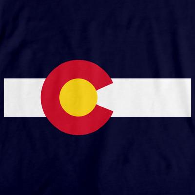 Colorado State Flag - Colorado State Flag Rocky Mountain T-shirt