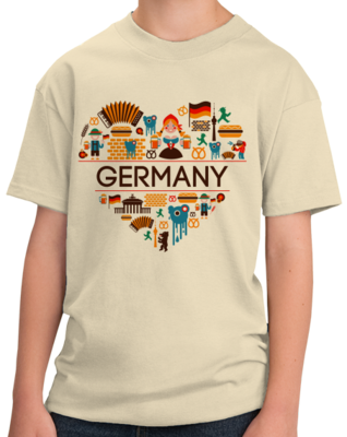 GERMANY LOVE T-shirt