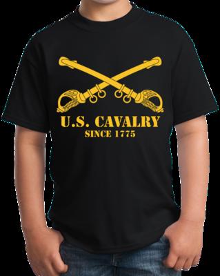 U.S. ARMY CAVALRY, SINCE 1775 T-shirt