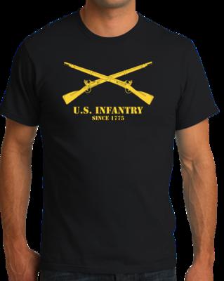 U.S. ARMY INFANTRY, SINCE 1775 T-shirt