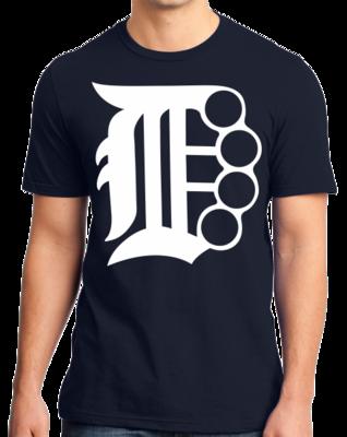 Brass Knuckle D | Detroit, Motor City Pride T-shirt