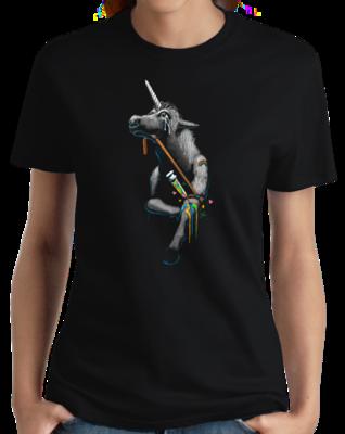 ADDICT UNICORN T-shirt