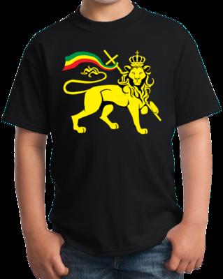 Rasta Lion Of Judah T-shirt