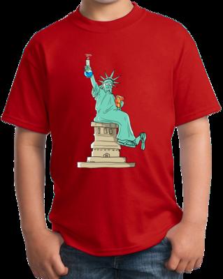 Statue Of Liberty Bong T-shirt T-shirt