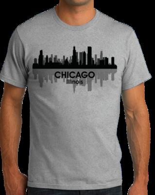CHICAGO CITY SKYLINE T-shirt