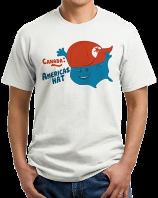 Canada: America's Hat T-shirt