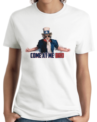 Uncle Sam Come at Me, Bro T-shirt