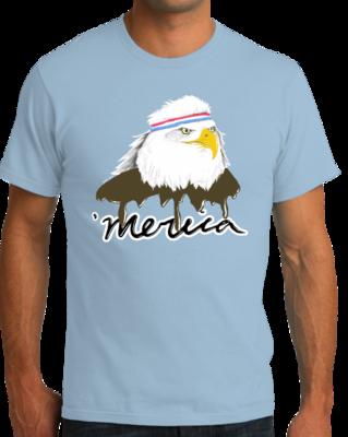 Merica Mullet Eagle T-shirt