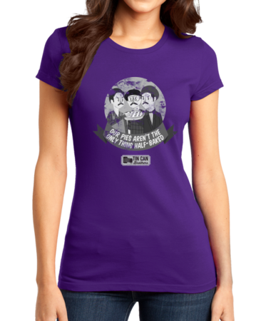 Tin Can Brothers Half Baked Pies Girly Purple Stock Model Front 1 Thumb
