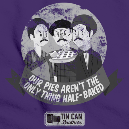 Tin Can Brothers Half Baked Pies Purple Art Preview
