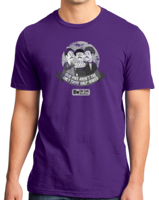 Tin Can Brothers Half Baked Pies T-shirt