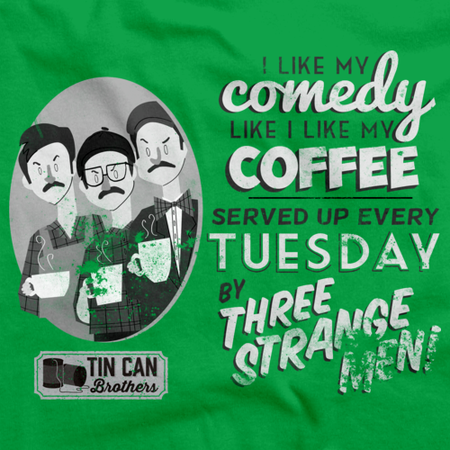 Tin Can Brothers Coffee Green Art Preview