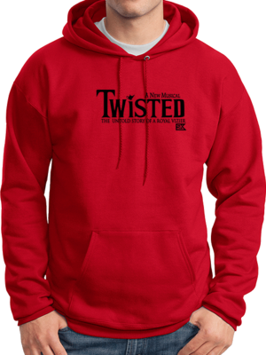 StarKid Twisted Logo Pullover Hoodie Fleece Sweatshirt