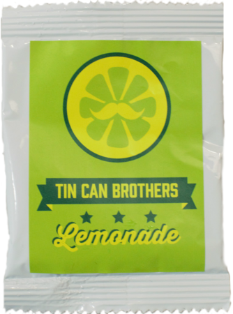 Tin Can Brothers Brand Lemonade