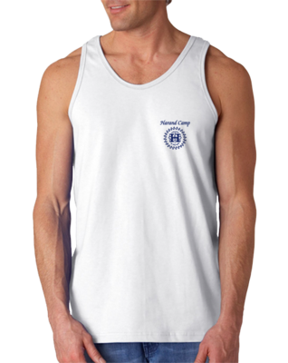 Harand Theatre Camp - Music Staff Royal Print Tank Top