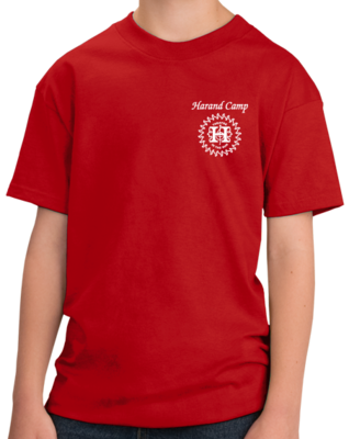 Harand Theatre Camp - Music Staff White Print T-shirt