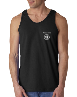 Harand Theatre Camp - Music Staff White Print Tank Top