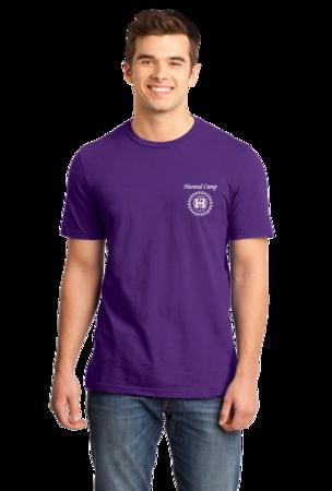 Harand Theatre Camp - Sun Logo Left Chest White Print Standard Purple Stock Model Front 1