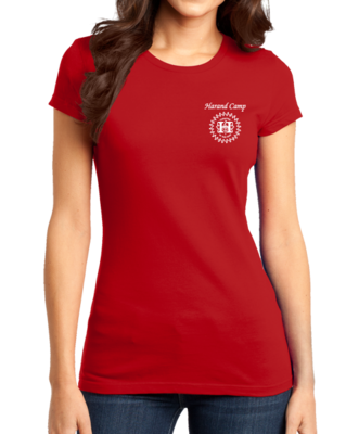Harand Theatre Camp - Sun Logo Left Chest White Print T-shirt